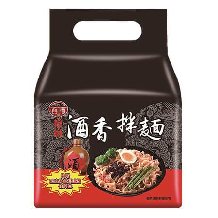 台酒TTL 酒香拌麵-椒麻(144.5g x4包/袋)