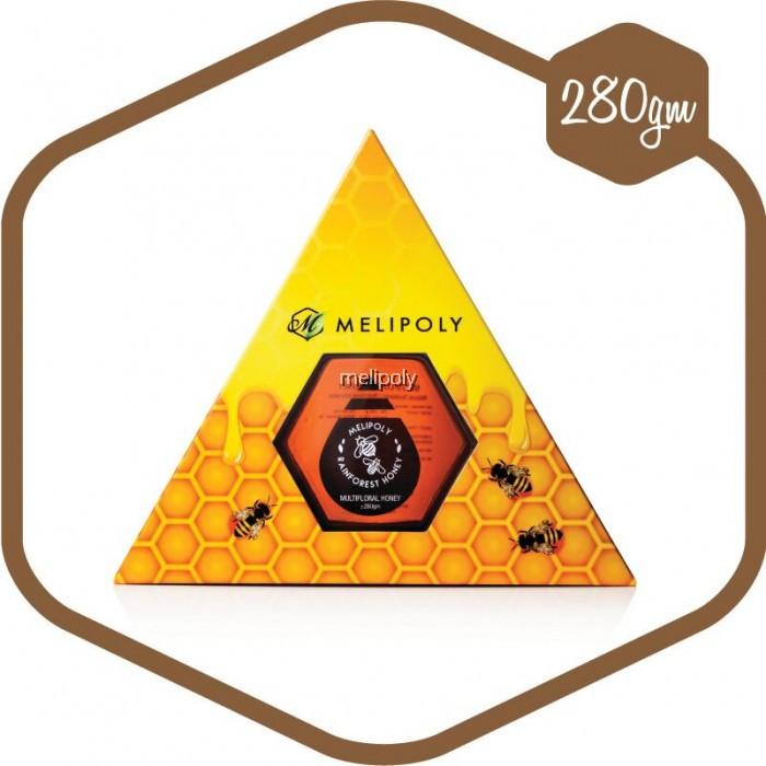 MELIPOLY 280gm Multiflora Honey/ Madu Bunga