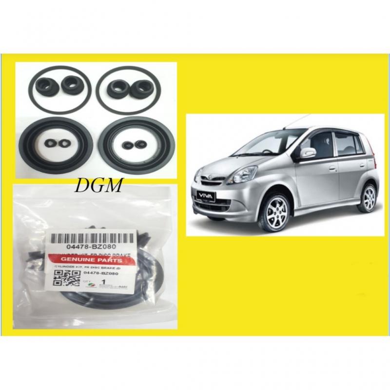 100% ORIGINAL Perodua VIva Front Disc Brake Caliper Repair Kit (full Set) 04478-BZ080