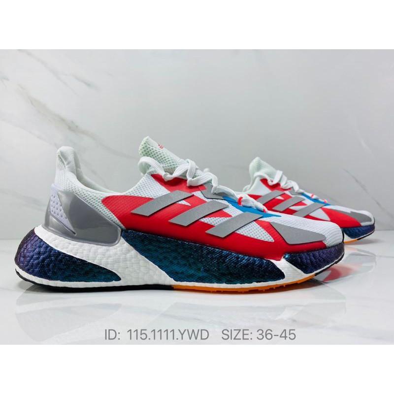 Adidas W X9000L4 Boost FW8407 Red Running Shoes Men 💥Premium💥-36-45 EURO