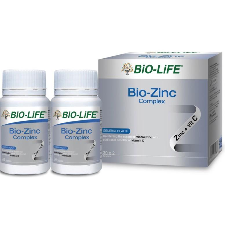 Bio-Life / BioLife Bio-Zinc Complex (2 X 30\'s) exp 06/2022