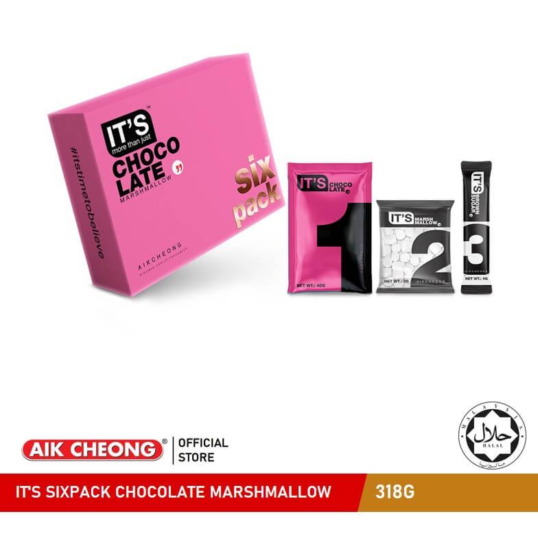IT\'S SIXPACK CHOCOLATE MARSHMALLOW
