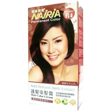 NAIRIA Nara Mi Asia glamor hair hair cream -R4 red wine