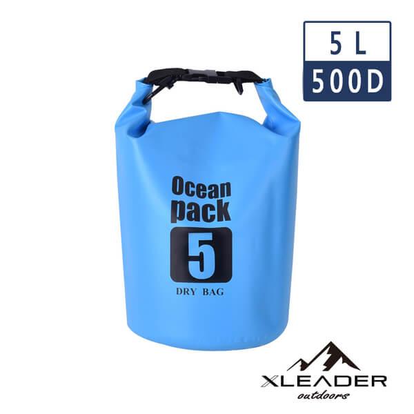(leader)Leader Outdoors Outdoor Lightweight Waterproof Bag Storage Bag 5L Sky Blue
