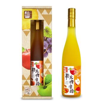 【醋桶子】健康純釀果醋-蘋果蜂蜜醋600ml