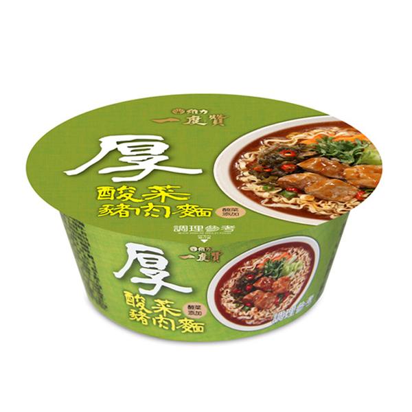 維力一度贊 酸菜豬肉麵 (1碗/組)