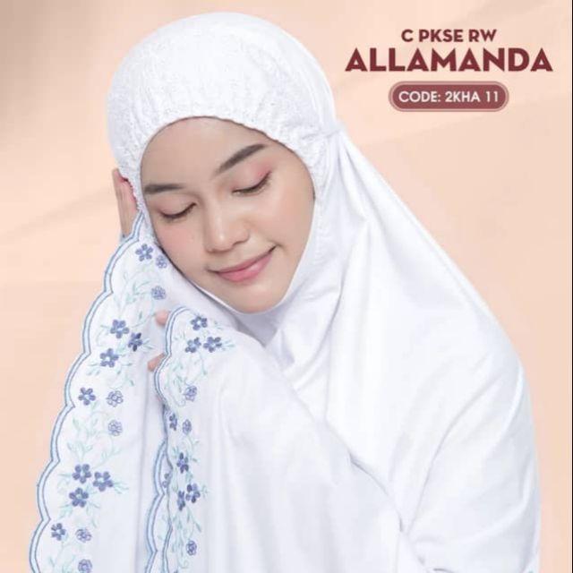 Telekung Cotton Allamanda
