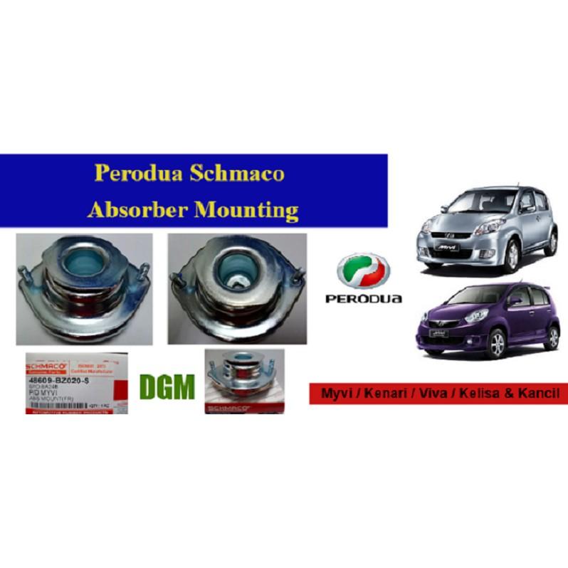 Perodua Myvi/ Kenari/ Viva/ Kelisa/ Kancil Schmaco Absorber Mounting