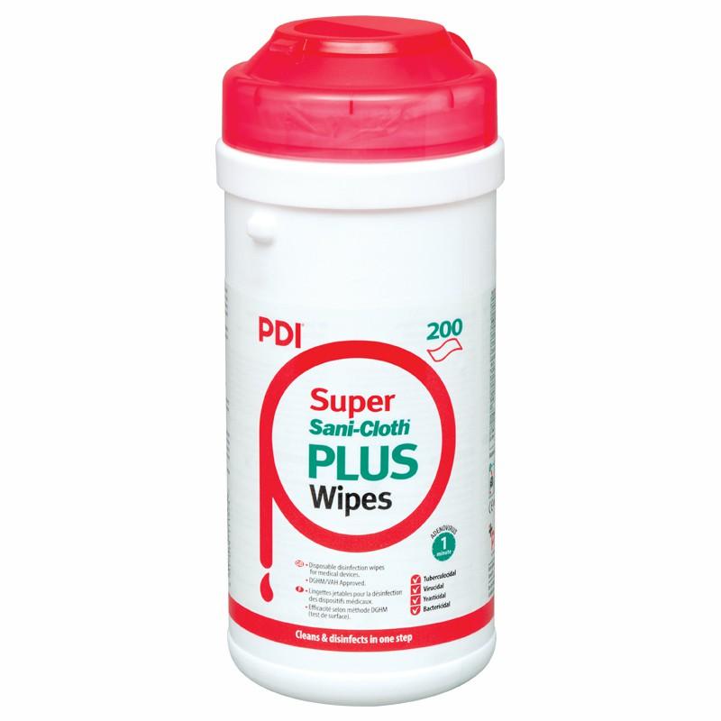 PDI Super Sani-Cloth® Plus 200s (disinfectant wipes)
