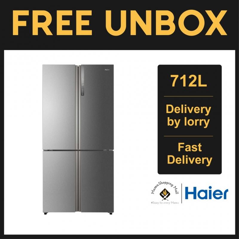 Haier 712L 4 Door Refrigerator Fridge Peti Sejuk with DC Inverter Technology HTF-610DM7