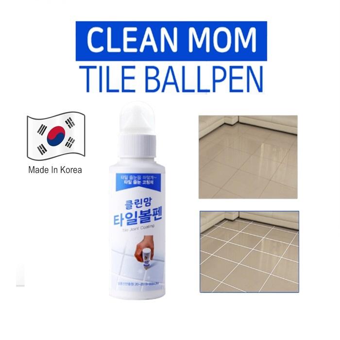[Clean mom] Tile joint special coating ball-point pen type-easy operation (toilet, kitchen, veranda) Tile reform