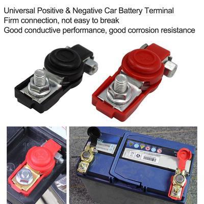 PROTON PERODUA TOYOTA HONDA NISSAN Sedan Car Original Battery Terminal Tinned Clamp Protective Cover (1PAIR)
