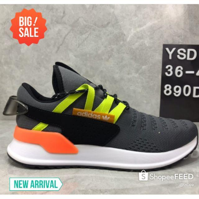💥PREMIUM💥Adidas EQT Men Running Shoes Lightweight Sneakers Running Shoes Fashion - Green