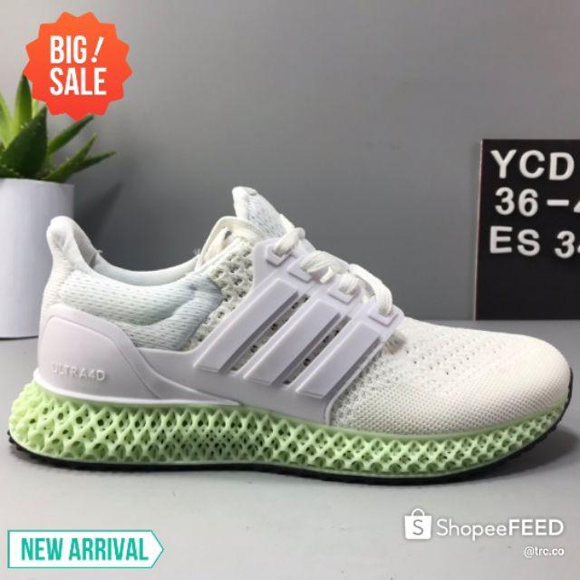 💥Ready stock💥Adidas Ax 4000 4D X UB Breathable Elastic Cushioning Running Shoes PREMIUM
