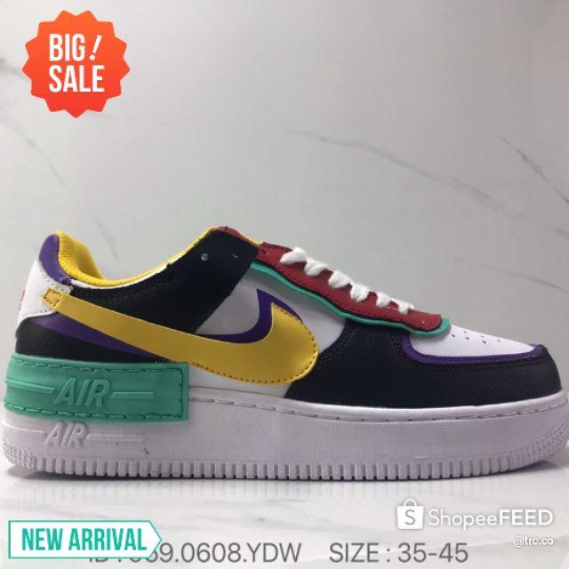 Nike Air Force 1 Shadow Af1 Swoosh Men\'s shoes Women\'s Shoes - 3 Colors