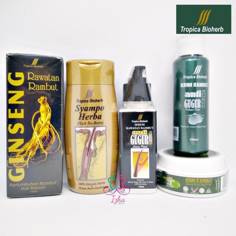 [TROPICA BIOHERB] Krim Delima / Krim Mutiara / Syampo Herba / Serum Rawatan Rambut / Ginseng Rawatan Rambut