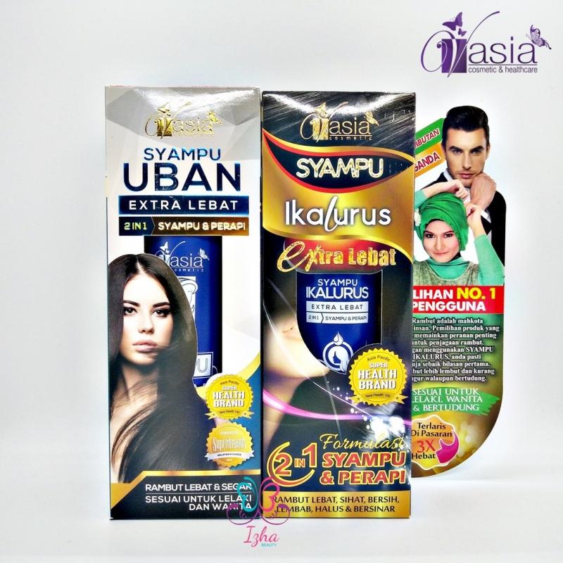 [V\'ASIA] Syampu Uban Extra Lebat / Syampu Ikalurus Extra Lebat - 200ml