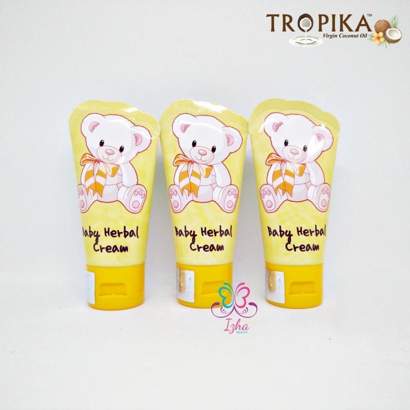 [TROPIKA BEAUTY] (Combo) 3x Baby Herbal Cream (Tube) - 50g