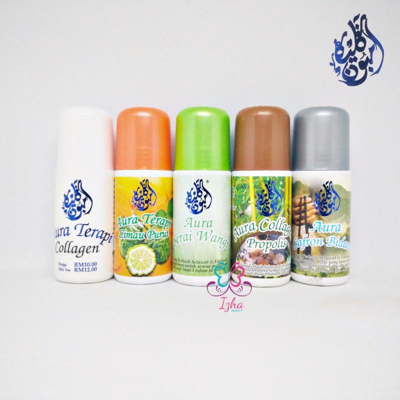 [5 botol] Collagen + Limau Purut + Serai Wangi + Propolis + Safron Bidara