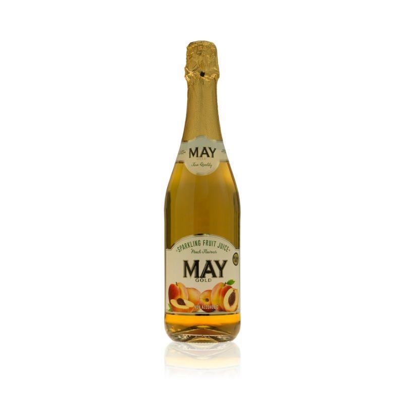 May Sparkling Juice 750ml - Peach