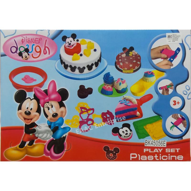 Mickey Minnie Kid\'s Play Doh Dough Plasticine Cake Maker
