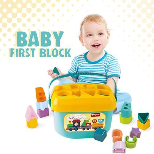 MALAYSIA: MENGENAL BENTUK/ BLOK LEGO / BABY FIRST BLOCK