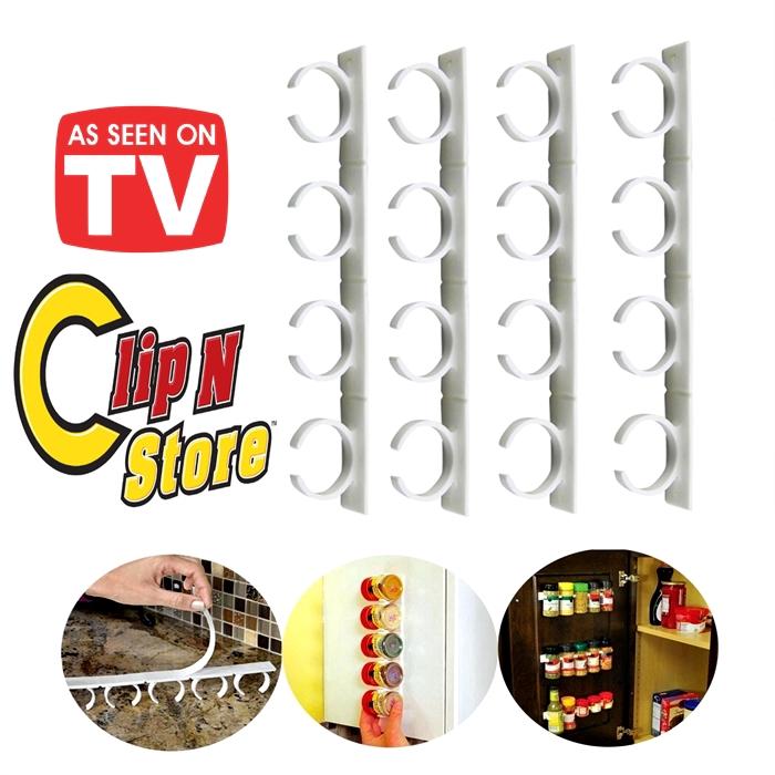 🔥M\'SIA STOCK-RAK KLIP HERBA /Clip N Store Spice Holder