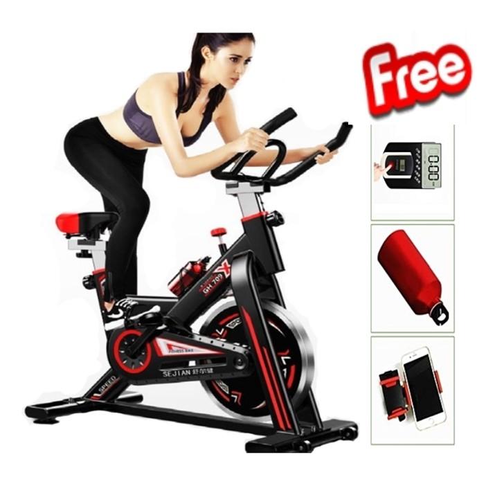 🔥M\'SIA STOCK] Exercise Cycle Bike Support Weight up 150 kg-Alat Senaman Basikal