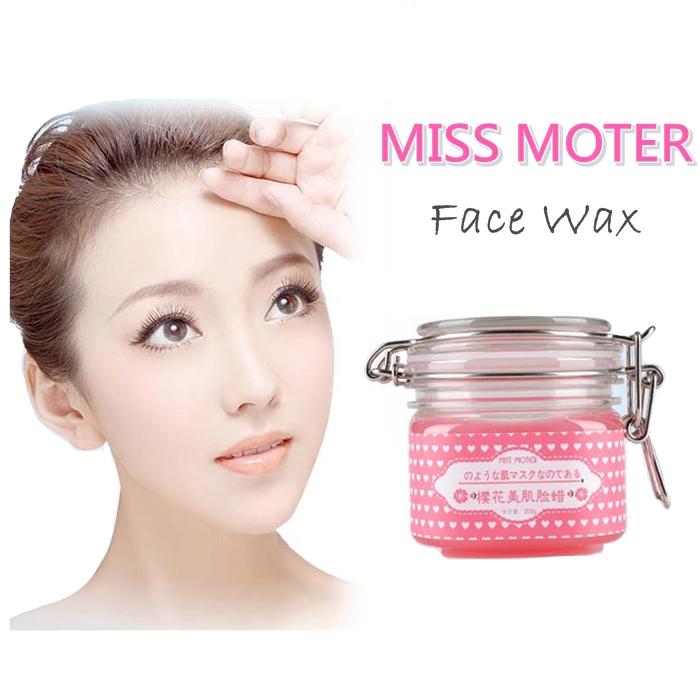 MALAYSIA- Miss Moter Original Face Wax Peeling Cherry 200ml/ PEMUTIH MUKA /PELEMBAB KULIT / BUANG KULIT MATI