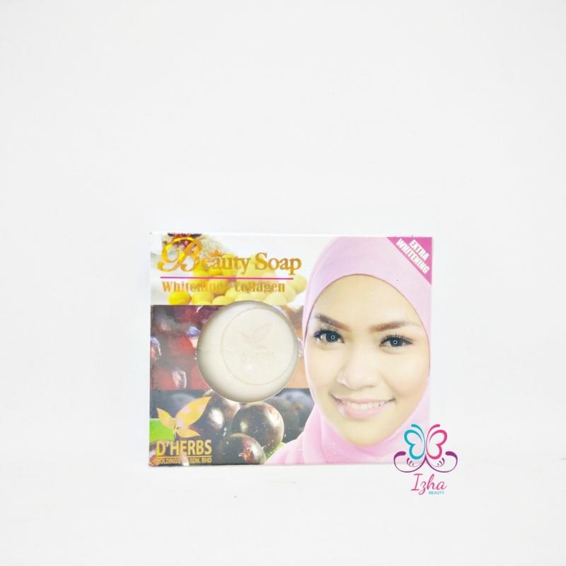 [D\'HERBS] Beauty Soap Whitening + Collagen