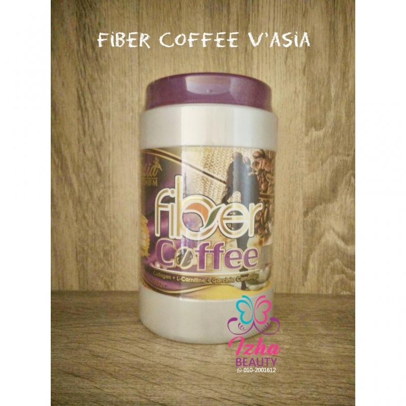 [V\'ASIA] Fiber Coffee - 10 sachet