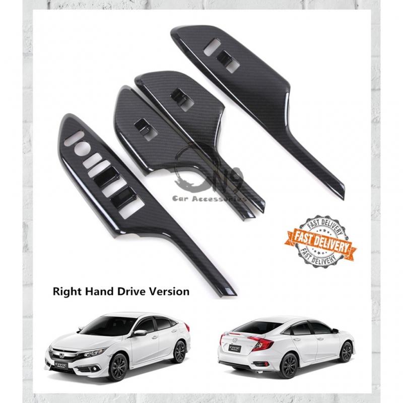 Honda Civic FC Carbon Windows Switch Cover RHD