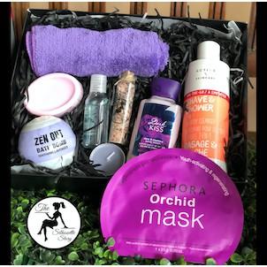 Purple Men Large Gift Box Set