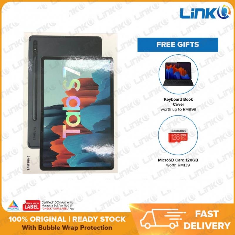Samsung Galaxy Tab S7 Wi-Fi 6GB + 128GB Tablet (T870) - Original 1 Year Warranty by Samsung Malaysia