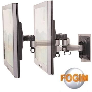 (FOGIM)FOGIM 35 cm retractable LCD TV / MONITOR dedicated wall mount - Lifetime Warranty