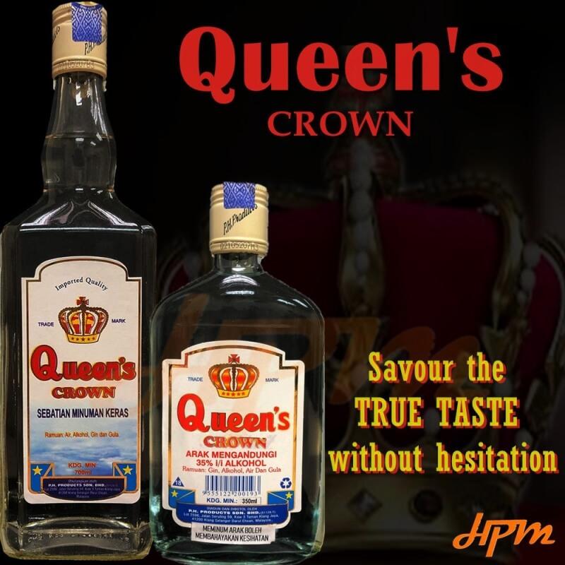 Queen\'s Crown Hard Liquor