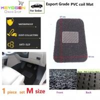 Export Grade 1pc univeral coil car mat - M size - waterproof antislip