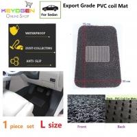 Export Grade 1pc univeral coil car mat - L size - waterproof antislip
