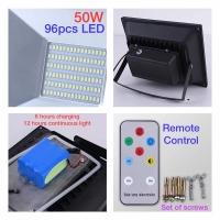 50W Solar streetlight floodlight Lampu waterproof
