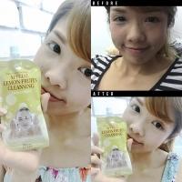 Chamos acaci Lemon Foam Facial CLEANSER Korea 20ML