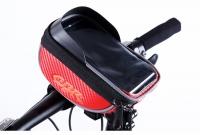 CBR Bike Handlebar Mounted Touch Screen Phone Bag with Glare Shield
