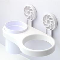 Durable Plastic Hair Dryer Holder Storage Organizer