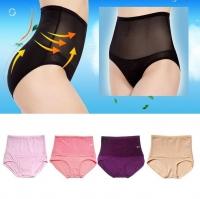 3 PCS High Waist Flatten Tummy Shaping Mesh Panties FREE 1 PCS