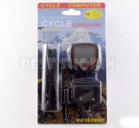 Wired Bike Bicycle Odometer Speedometer 14 Functions SD-548B