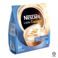 Nescafé Latte Caramel Premix Coffee 20 Sticks x 25g