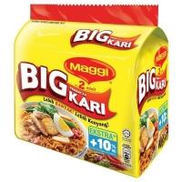 MAGGI 2-MINN Big Curry 5 Packs, 111g Each