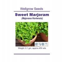 WHT Wellgrow Seeds #23841747 Sweet Marjoram (Majorana Hortenesis) (450 SEEDS)