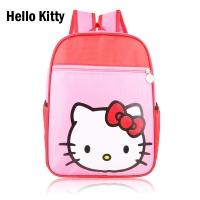 Kids Child Nylon Waterproof Small Schoolbag School Bag Backpack (Hello Kitty)
