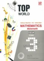 Pelangi Top World Topical Practice PT3 HOTS/KBAT Mathematics KBSM Form 3