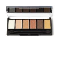 【Sugar Box】6 Colors Eyeshadow Palette Glamorous Smokey Makeup Kit 糖盒六色烟熏裸妆